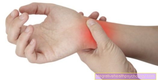 Therapy of a carpal tunnel syndrome