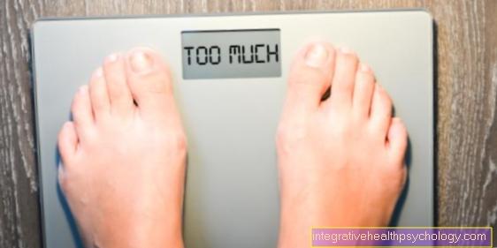 Tab i vægt på låret