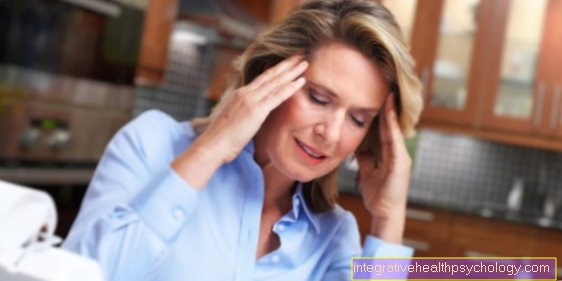 Cervical spine syndrome and headache